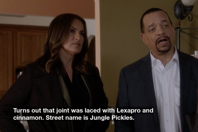 Crazy Things Ice-T May Or May Not Have Said On Law And Order (12 pics)
