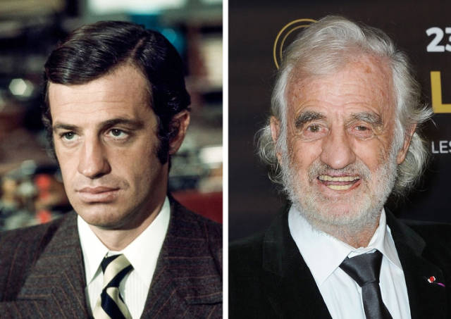 How French Actors And Actresses Changed Since Their First Appearance On Screen (25 pics)
