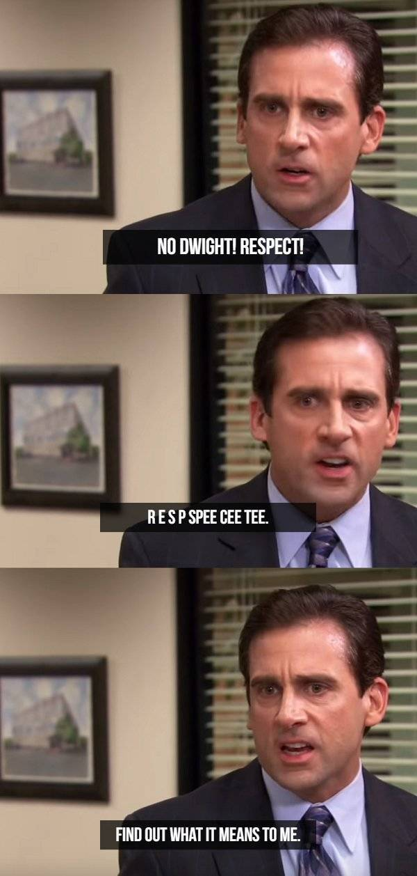 Michael Scott Loves Being Misquoted (22 pics)