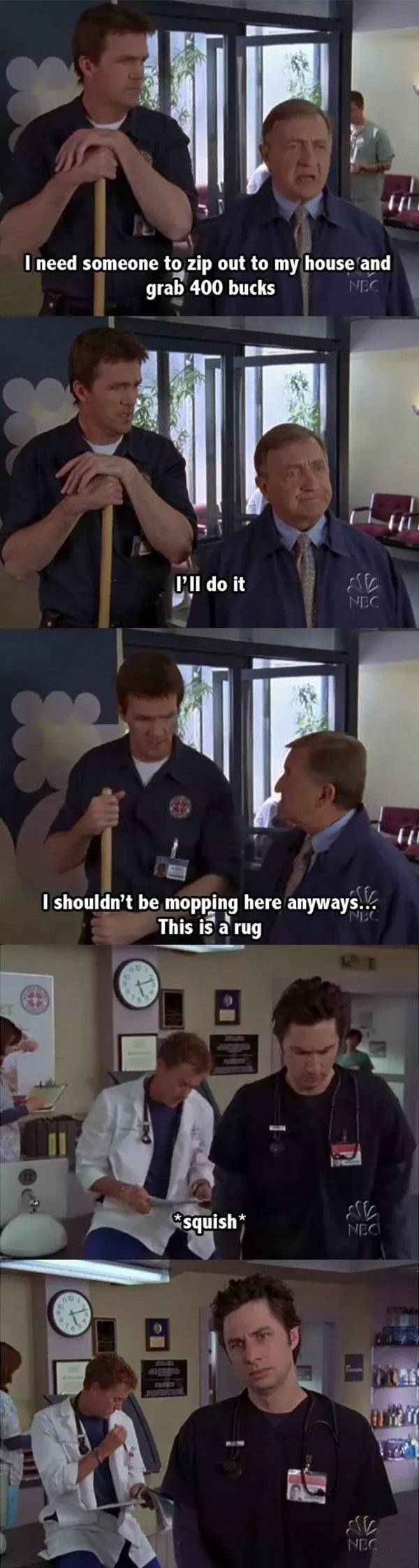 """The Janitor From """"Scrubs"""" Moments (32 pics)"""