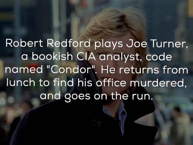 "Facts About The Movie ""Three Days of the Condor"" (14 pics)"