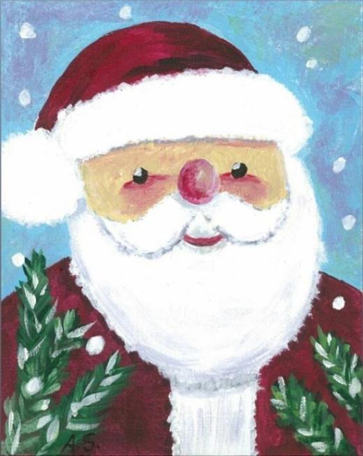 Arnold Schwarzenegger Makes Christmas Cards (3 pics)