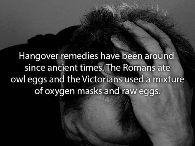 Hangover Facts (10 pics)