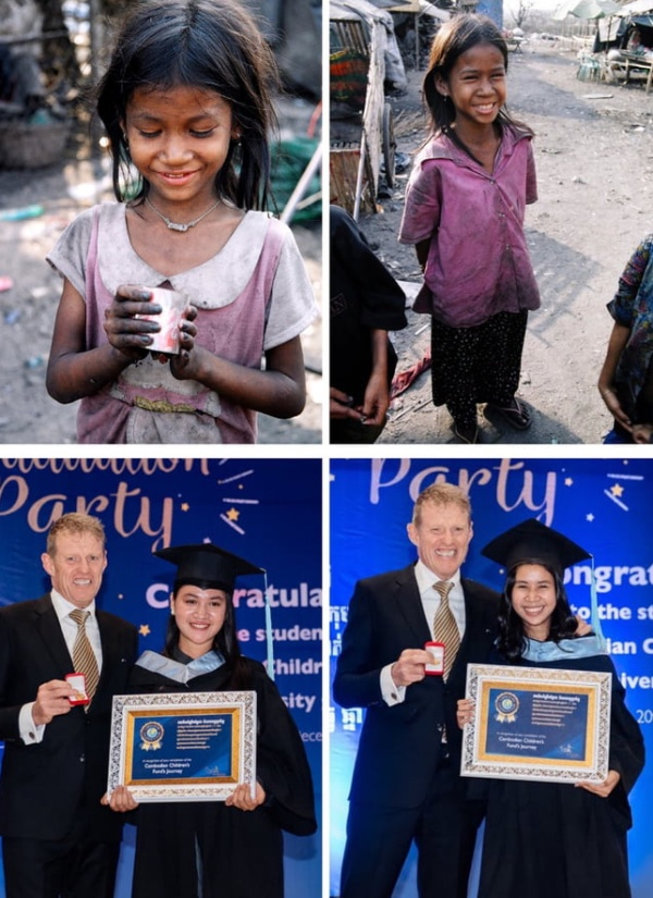 Scott Neeson, A Former Hollywood Film Marketing Director, Sold All His Possessions And Went To Help 2,000 Poor Children In Cambodia In 2004. Now They Are Graduating From University (4 pics)