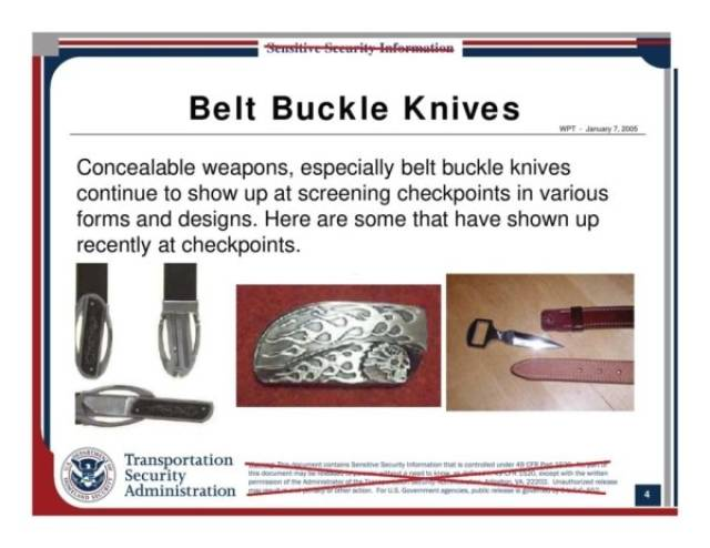 TSA Agents Are Trained To Find These Strange Items (13 pics)