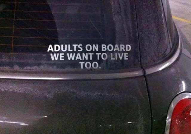Funny Car Stickers (31 pics)