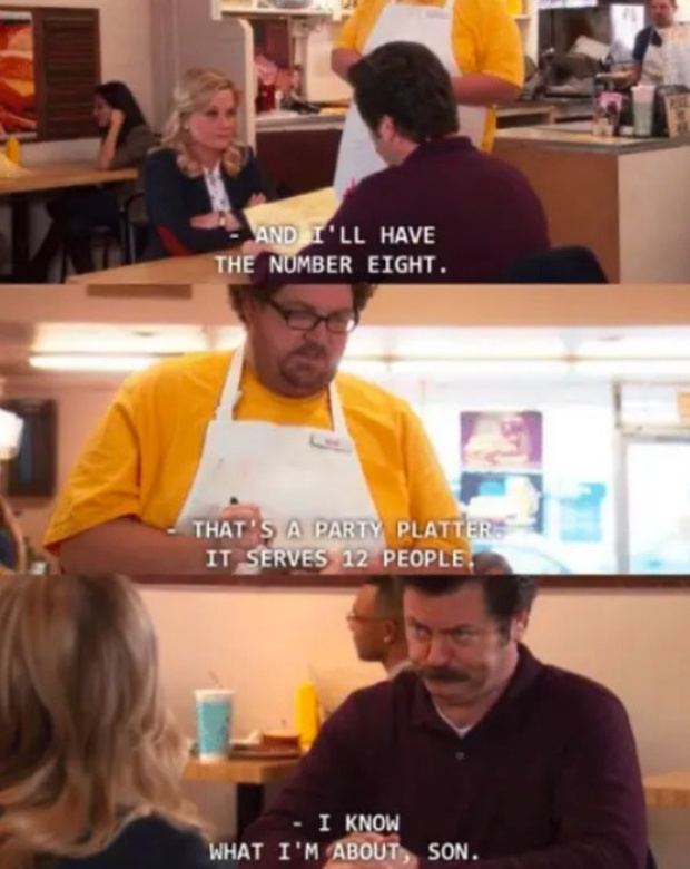 Ron Swanson Funny Moments (28 pics)
