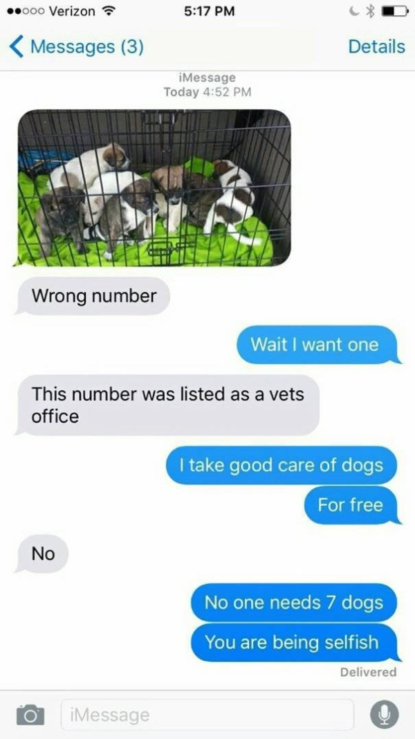 Wrong Number Texts Always Go Wrong (27 pics)