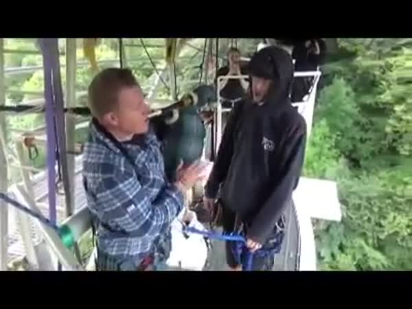 Bagpipe Bungee Jumping