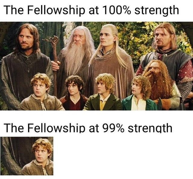 Lord of the Rings Memes (29 pics)