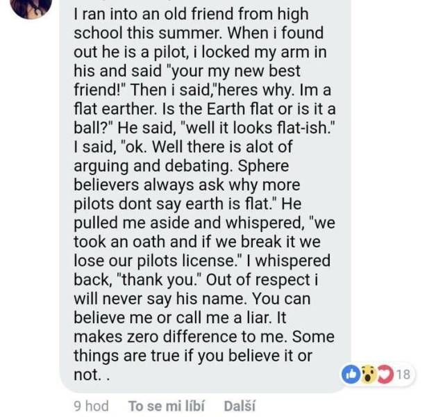 Flat Earthers Are The Best (19 pics)