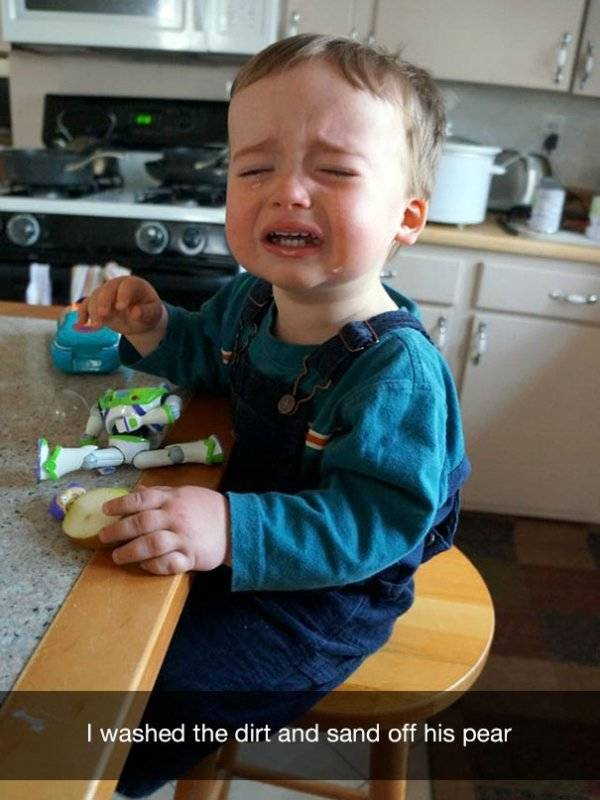 Why Kids Cry (47 pics)