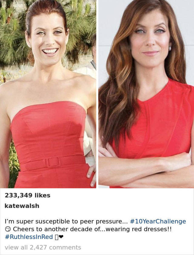The Best Of 10-Year Challenge (45 pics)