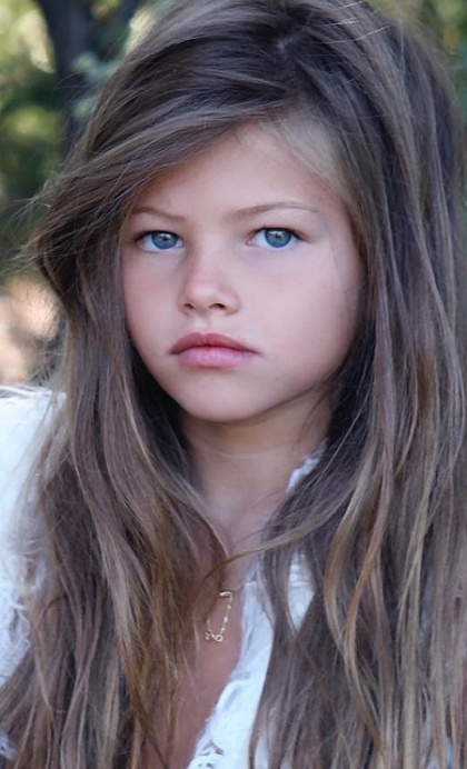 17-year-old 'Most Beautiful Girl In The World' Thylane Blondeau In 10-Year Challenge (2 pics)
