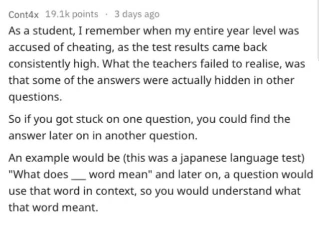 For Some People, Test Cheating Is An Art (22 pics)