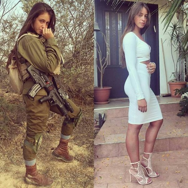 Girls With And Without Uniform (37 pics)