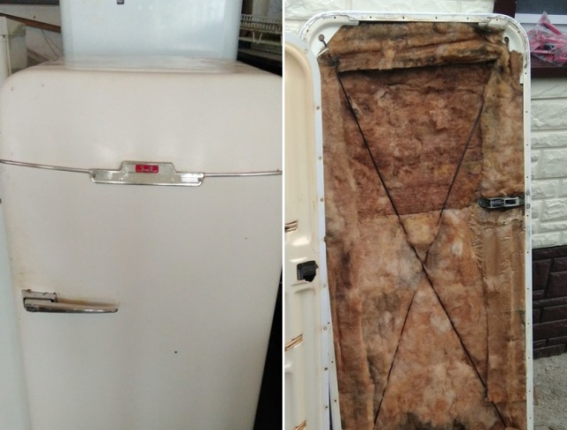Repairing Of An Old Refrigerator (15 pics)
