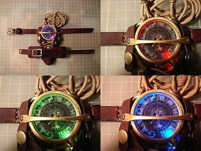 Steampunk Watch (20 pics)