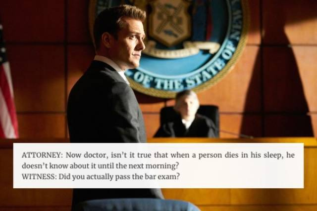 Stupid Things Are Often Said In The Courtroom (32 pics)