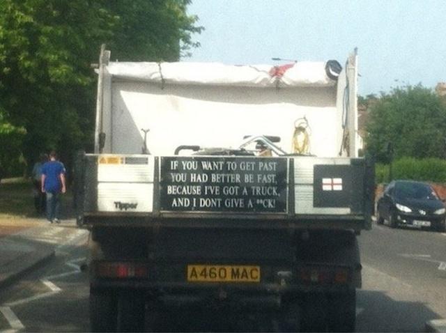 Trucks humor (25 pics)