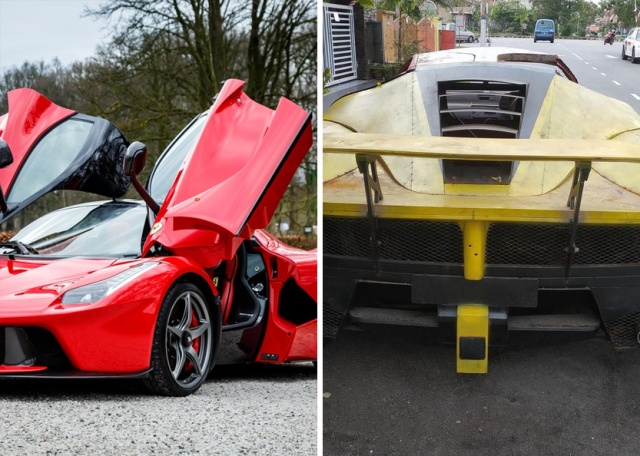 Steel Made LaFerrari Replica (6 pics)