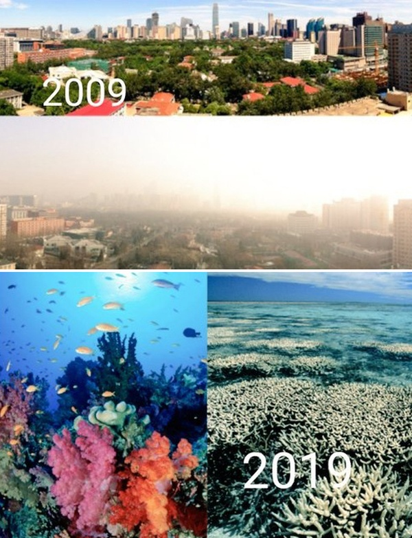 How The Planet Has Changed In 10 Years (5 pics)