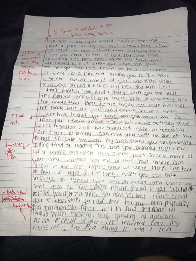 Ex Corrected Bad Grammar (4 pics)