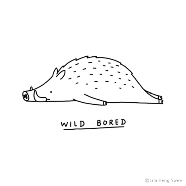 Punny Illustrations of Moody Animals (20 pics)