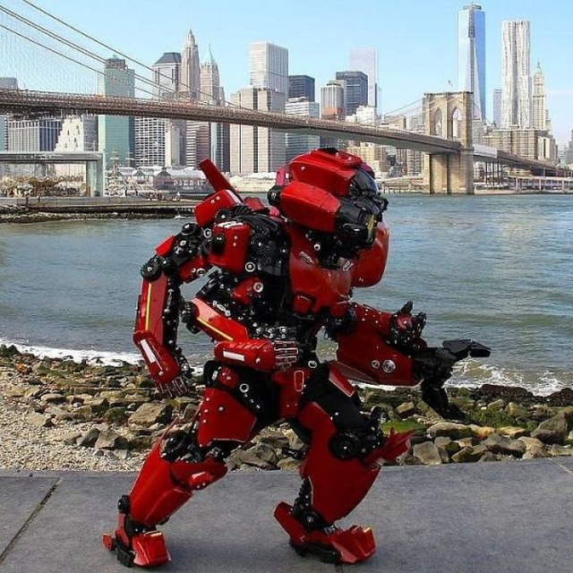 Artist Turns Himself Into Real Robots (27 pics)