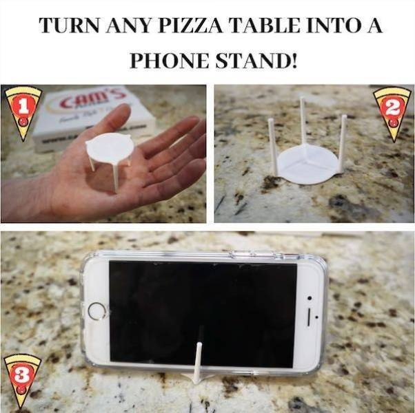Pizza Life Hacks (12 pics)