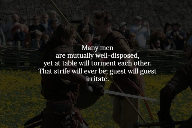 Words Of Wisdom From The Real Viking Age (14 pics)
