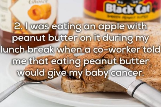 Pregnant Women Have To Be Prepared To Hear All Kinds Of Freaky Stuff (21 pics)