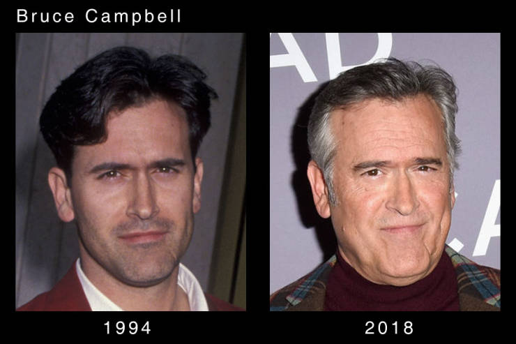 Actors Are Aging So Differently (20 pics)