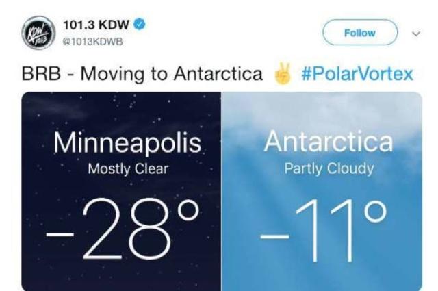 Polar Vortex 2019 Memes (23 pics)