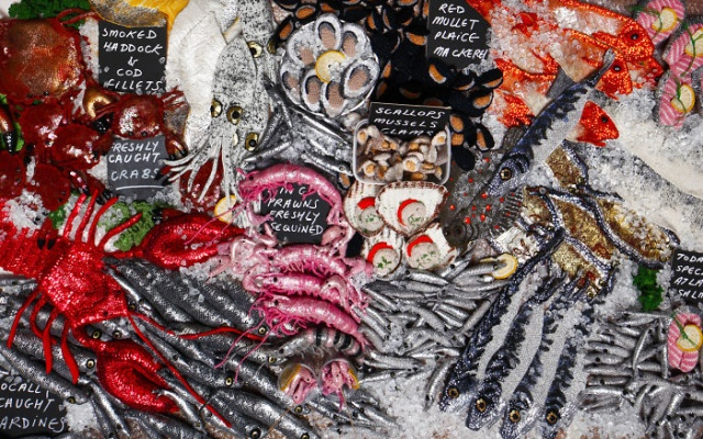 Sea Food Art (25 pics)