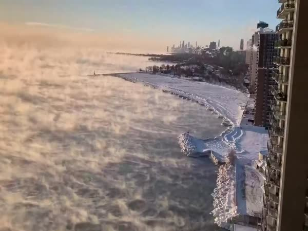 Lake Michigan Trying To Cope With Freezing Temperatures
