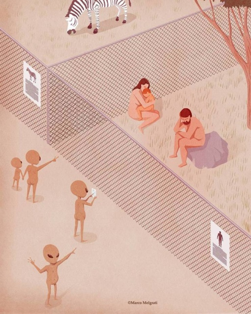 Illustrations That Will Have You Thinking About Modern Reality (20 pics)