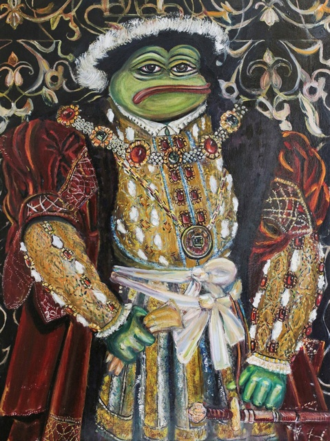 Pepe The Frog Goes Classic (13 pics)