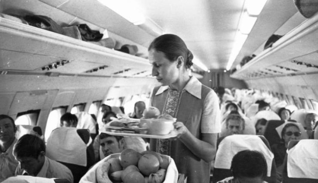 Vintage Airlines Were Different (14 pics)