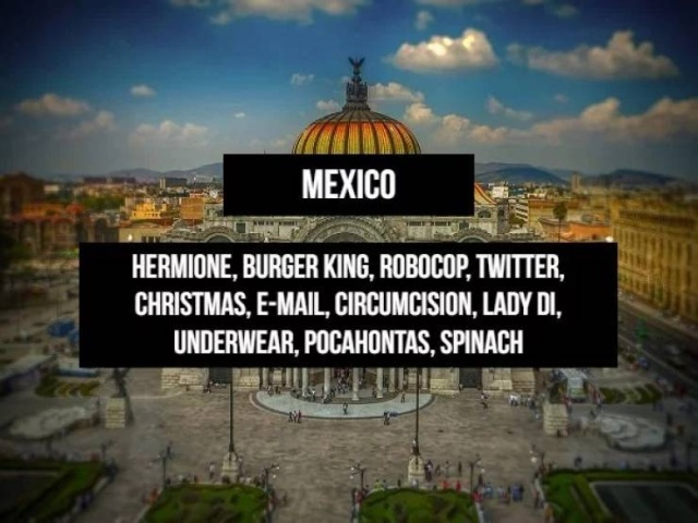 There Are Some Names That Can't Be Used In Various Countries Around The World (14 pics)