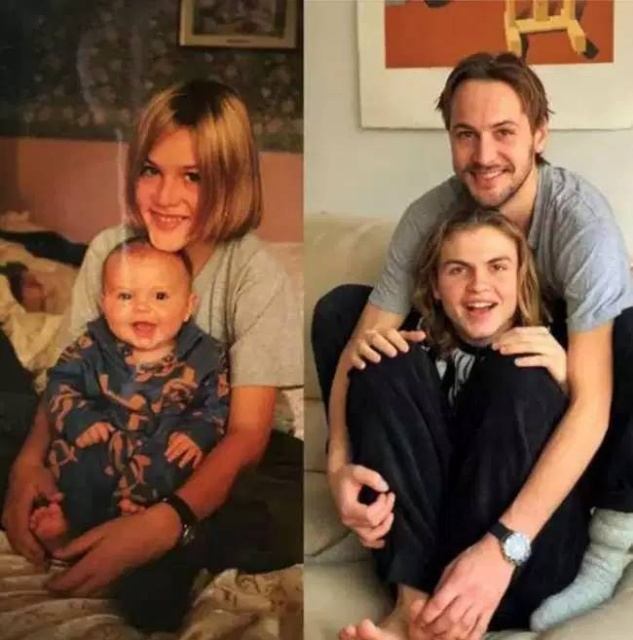 Childhood Pictures Recreated (25 pics)