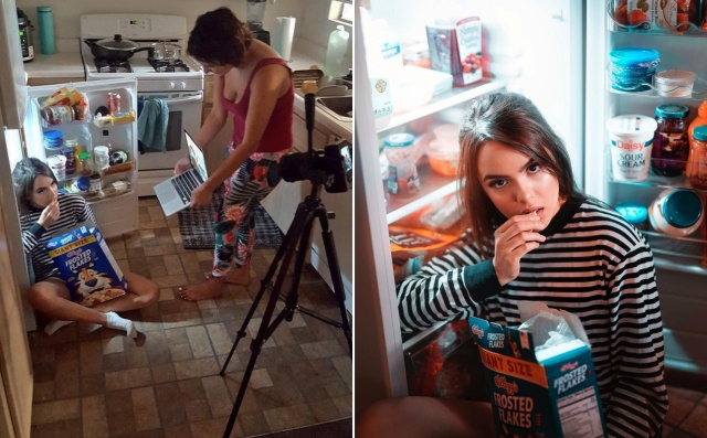 Behind-The-Scenes Of Nice Photos (15 pics)
