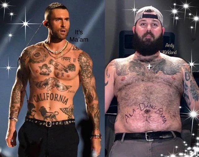 Adam Levine's Torso Vs The World (37 pics)