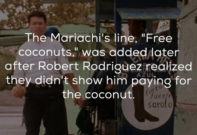 Facts About El Mariachi (18 pics)