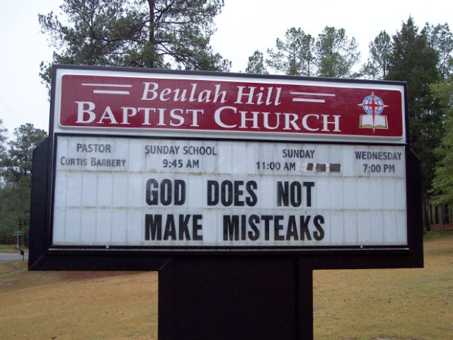 Churches Can Be Funny Too (20 pics)