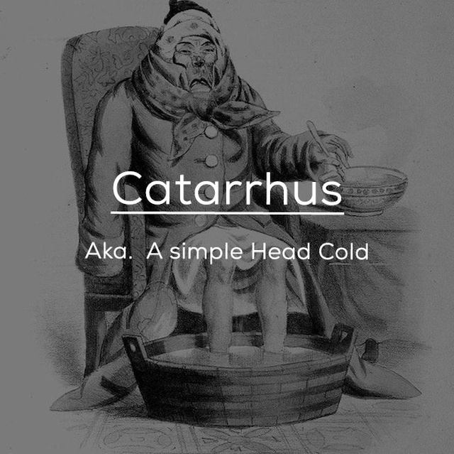 Old-fashioned Medical Terms (24 pics)
