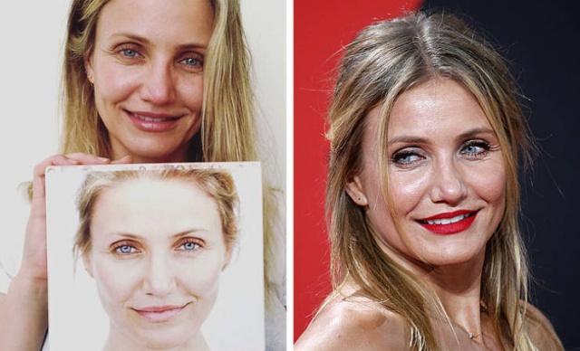 Stars Without Makeup (25 pics)