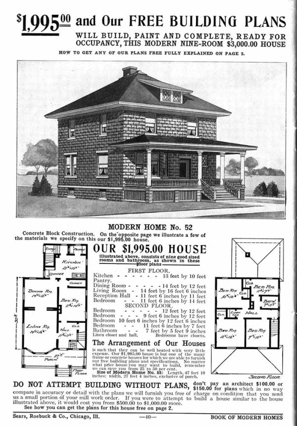 Houses Used To Be Cheap In The Past (20 pics)