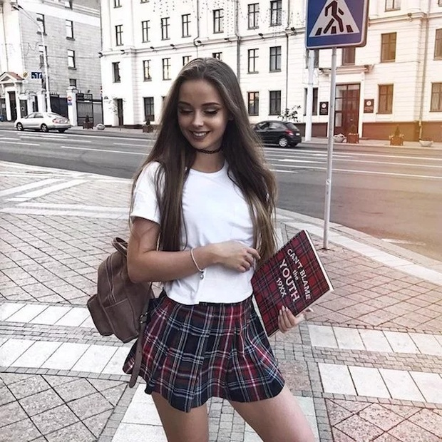 Plaid Skirts And Jean Shorts (27 pics)