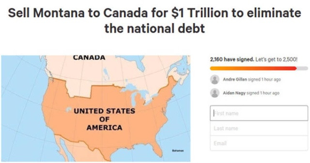 Americans Try To Sell Montana To Canada To Eliminate The National Debt (22 pics)